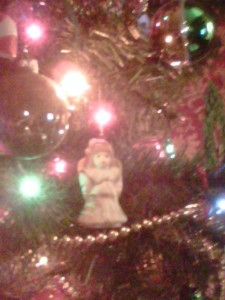Angel on my tree